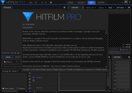 HitFilm Pro 8.1.7729.45222 Keygen & Activator Download