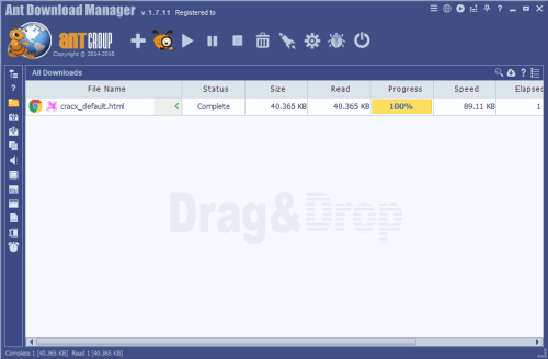 Ant Download Manager Pro 1.7.11 Patch & Serial Key Download