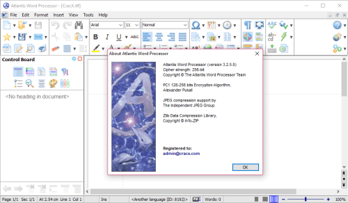 Atlantis Word Processor 3.2.5 Keygen & Activator Download