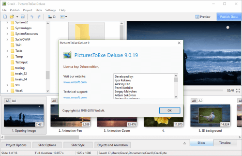 PicturesToExe Deluxe 9.0.19 Full Keygen & Activator Download