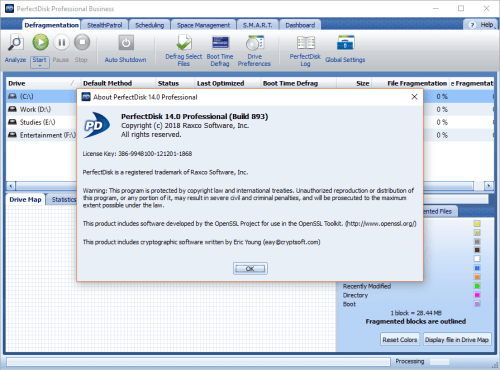 Raxco PerfectDisk Professional 14.0.893 Full Activator Download