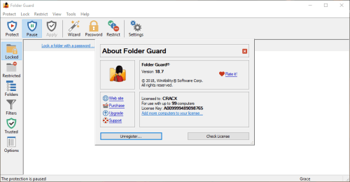 Folder Guard 18.7.0.3003 Full Keygen & Activator Download