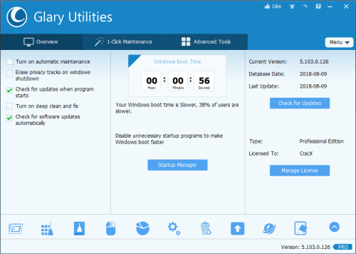 Glary Utilities Pro 5.103.0.125 Patch & Serial Key Download