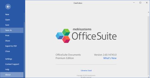 OfficeSuite Premium Edition 2.60.14743.0 Full Keygen Download