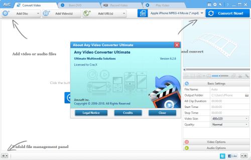 Any Video Converter Ultimate 6.2.6 Keygen & Activator Download