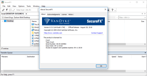 SecureCRT and SecureFX 8.5.0 Keygen & Portable Download