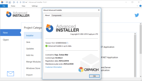 Advanced Installer Architect 15.4.1 Keygen & Activator Download