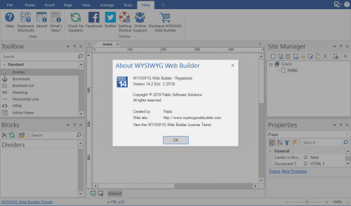 WYSIWYG Web Builder 14.2.0 Keygen & Activator Download