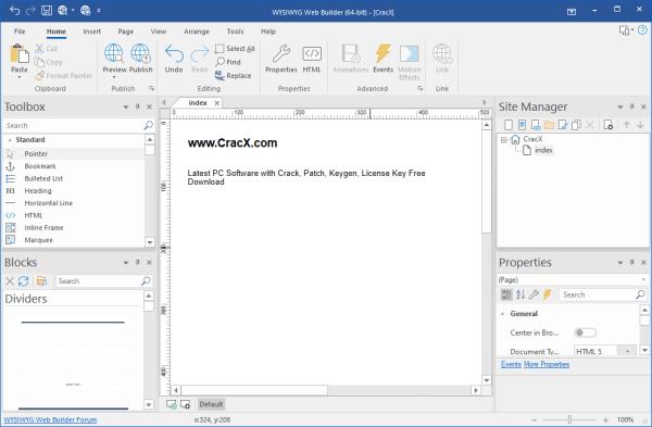 WYSIWYG Web Builder Serial Key & Patch {Tested} Free Download