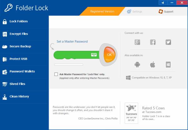 Folder Lock Crack & License Key {Tested} Free Download