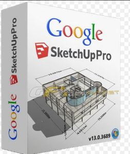 Google SketchUp Pro 2017 Crack plus License Key Full Download