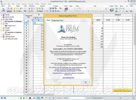 GraphPad Prism 7 With Crack (Activation Serial Key) Full Version