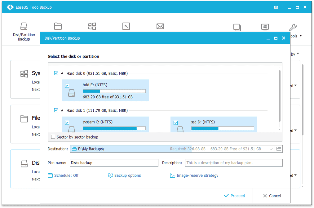 FREE TODO BACKUP 6.5 EASEUS TÉLÉCHARGER