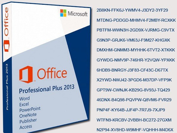 Microsoft Office 2013 Crack With Product Key Generator Updated