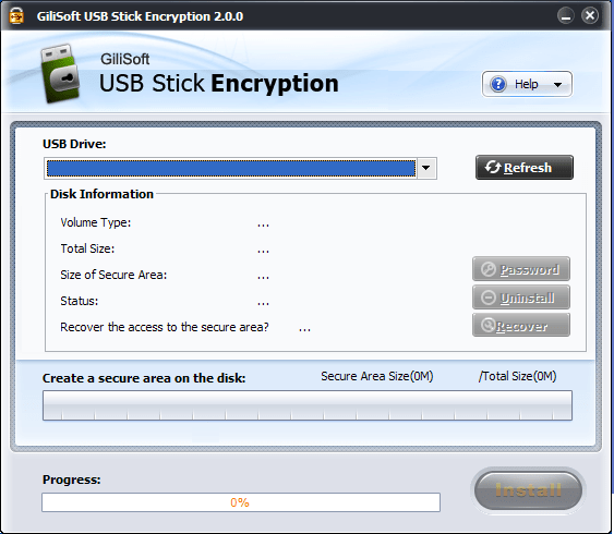 GiliSoft USB Stick Encryption 6 Crack & Registration Key {Latest}