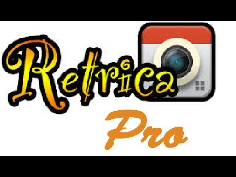 Retrica PRO APK Cracked for Android Free Download