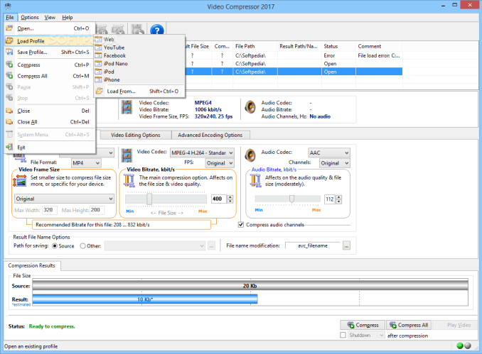 Advanced Video Compressor 2021 Crack With Serial Key (LATEST)