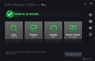 IObit Malware Fighter PRO 7.5.0 Crack Plus Serial Key 2020 [Latest]