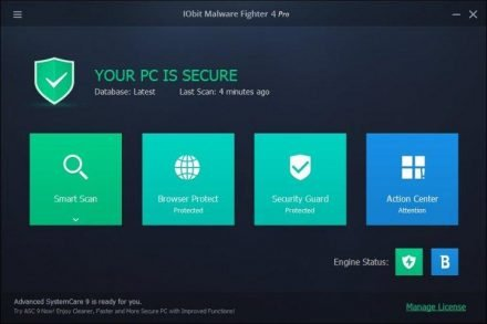 IObit Malware Fighter Pro Crack 8.4.0 With Serial Key 2021 [Latest]