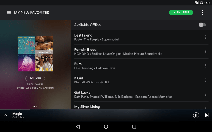 Spotify 1.0.84.344 Cracked APK Free Download [Latest]