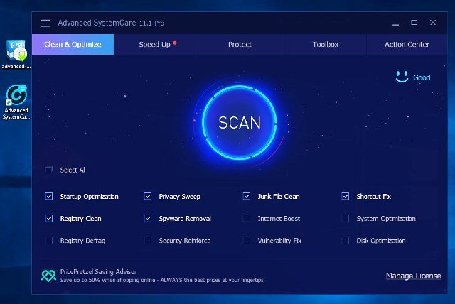 Advanced SystemCare 11.5 PRO Key [Crack] Free Download