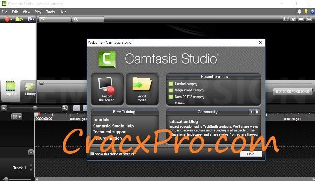 Camtasia Studio 9 Serial Key {Crack + Keygen} Full