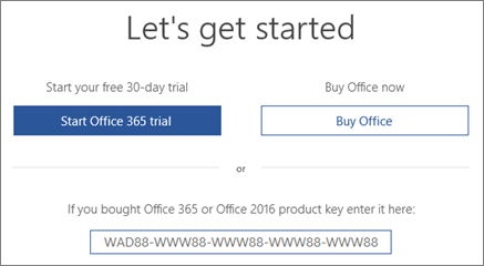 product key microsoft office 2018 free