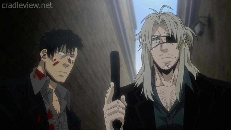 anime gangsta warrick and nicholas