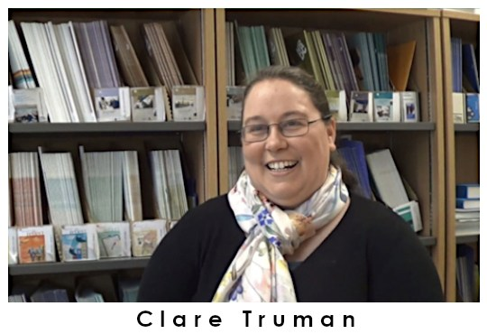Clare Truman, PhD student at CRAE.