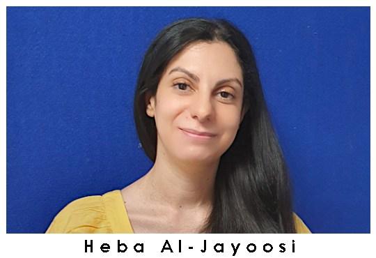 Heba Al-Jayoosi.