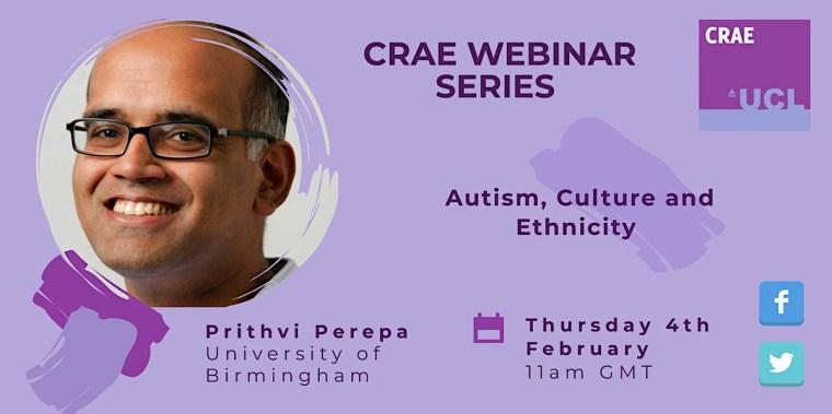 Prithvi Perepa's event banner, in colour.