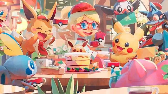 Pokémon Café Mix wallpaper