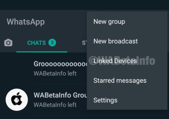 whatsapp mda WABetaInfo linked devices
