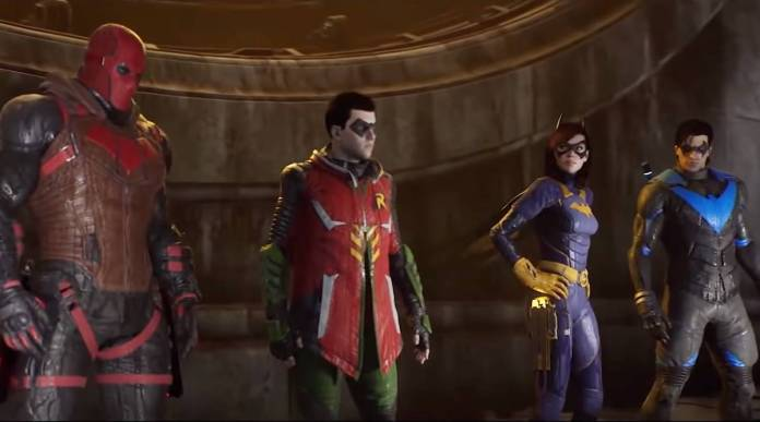 Gotham Knights characters