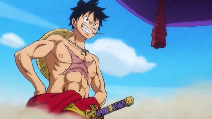 Luffy in wano