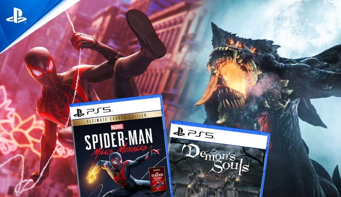 PS5 file sizes revealed for Spider-Man: Miles Morales and Demon's Souls