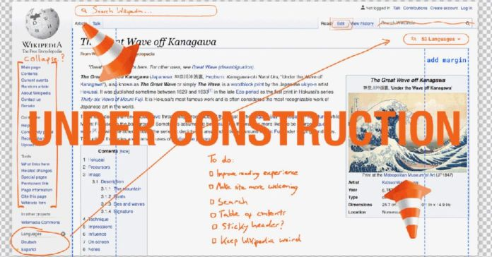 Wikipedia is getting a new look for the 1st time in 10 years