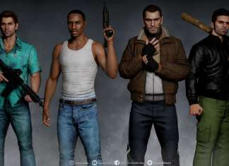 remastered gta characters