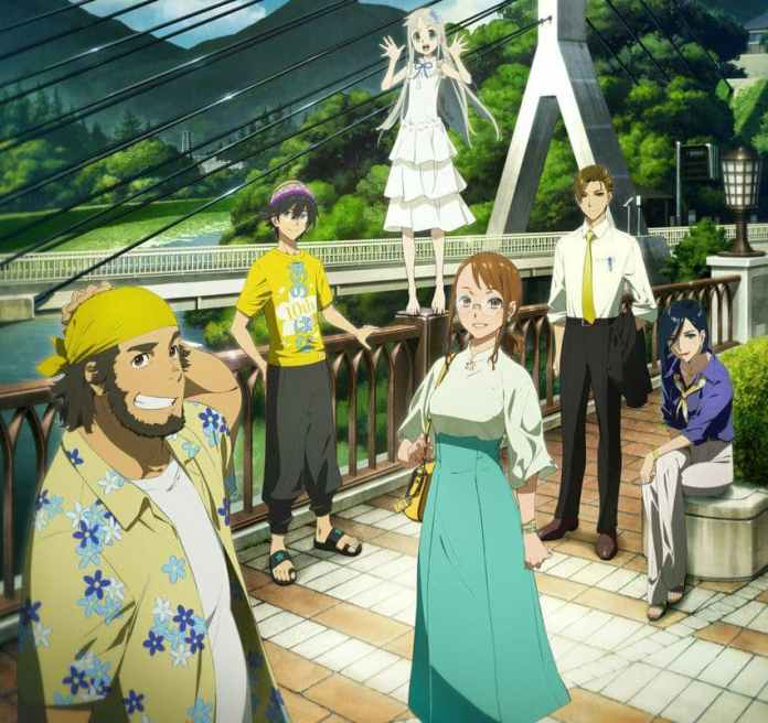 Anohana anime announced its 10th-anniversary project - Craffic