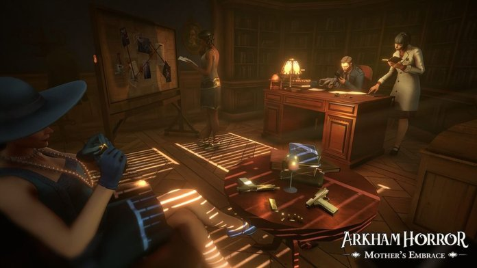 Board-game-turned-tactical-RPG Arkham Horror: Mother's Embrace by Asmodee Digital screenshot