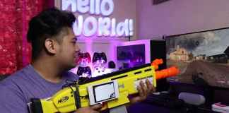 Nerf Gun Becomes Call of Duty Controller With Raspberry Pi