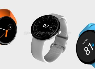 Google Pixel Watch leaked render hints Round Design and Minimalist UI - Craffic