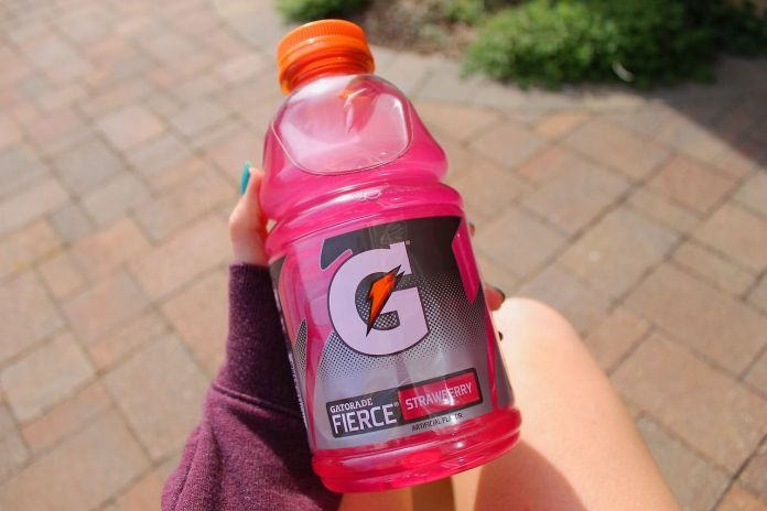 Bizarre Discovery indicates that Pink Drinks can make people run faster