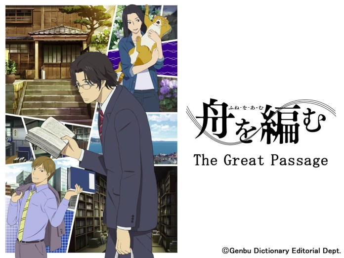 8 Great Educational Anime shows that will help you learn - The Great Passage