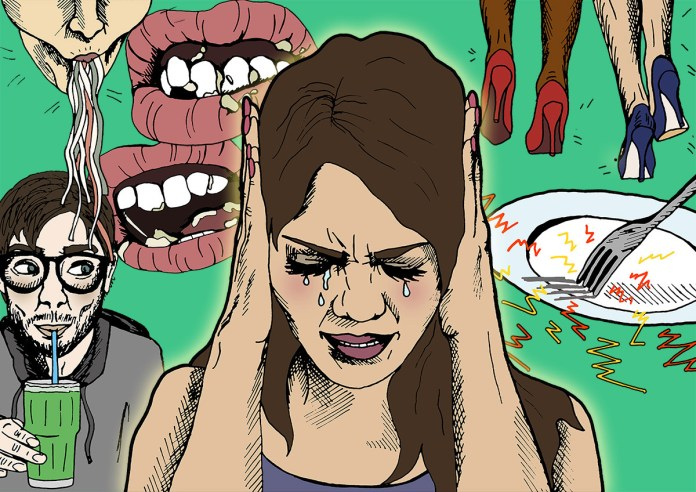 Does the eating sound make you crazy? You have Phobia