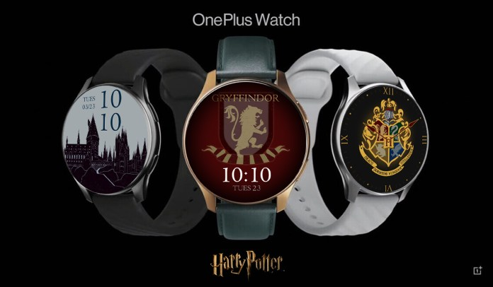 OnePlus Watch Harry Potter Limited Edition Watch Faces Leaked
