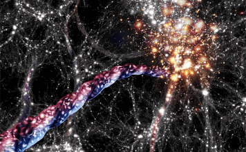 'Cosmic filaments' The Largest Structures in Universe has started spinning