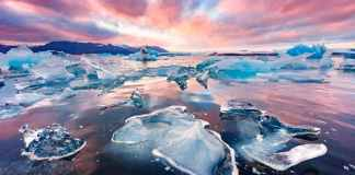 High levels of 'Forever Chemicals' is leaking from Melting Ice in Arctic