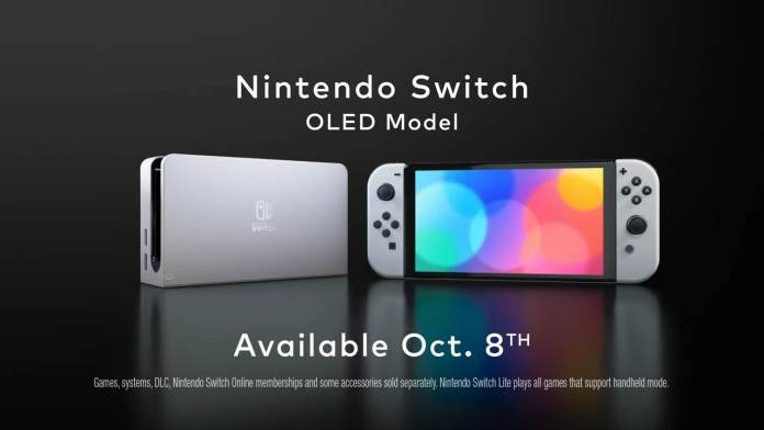 New Nintendo Switch OLED model is official