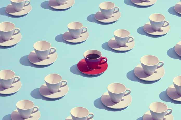 More than 6 cups of coffee a day can increase the risk of Dementia